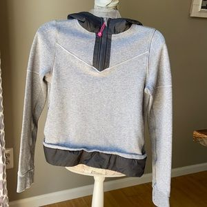 Ivivva Lululemon 1/4 Zip Hooded Sweatshirt